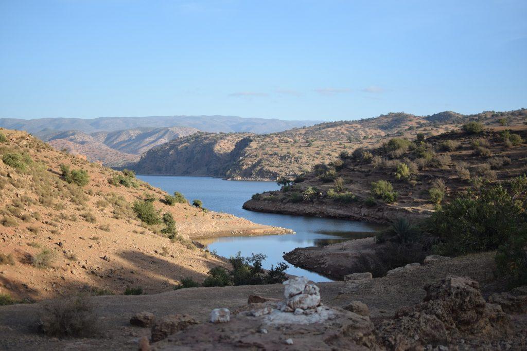 Entre les oasis et les gorges marocaines