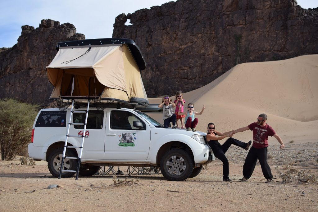 Le désert du Sahara, hors du temps