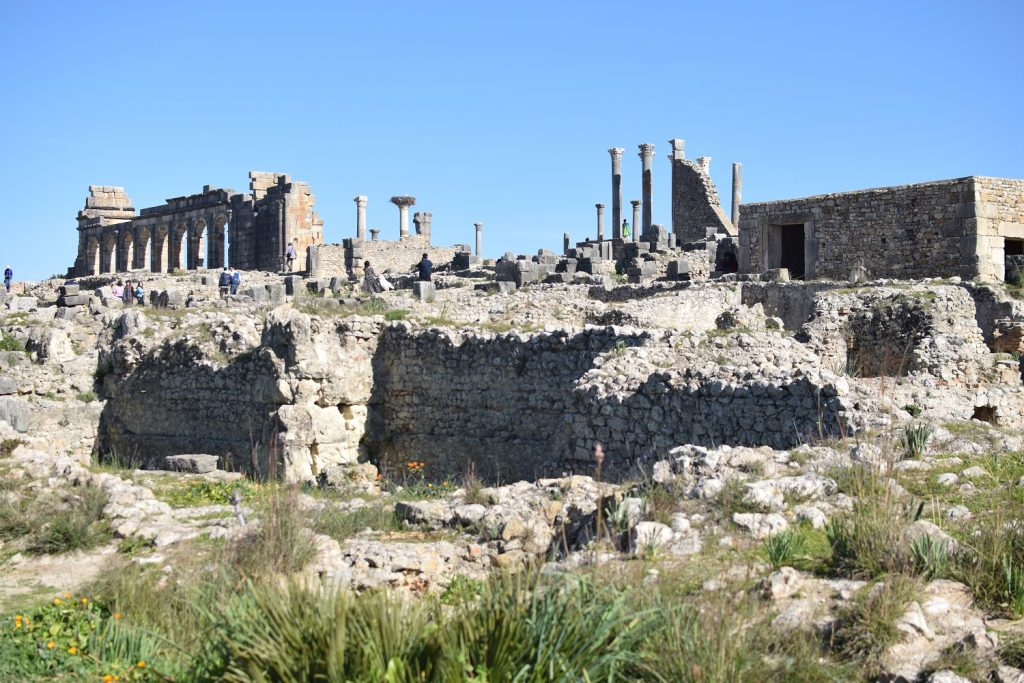 Volubilis : des romains au Maroc