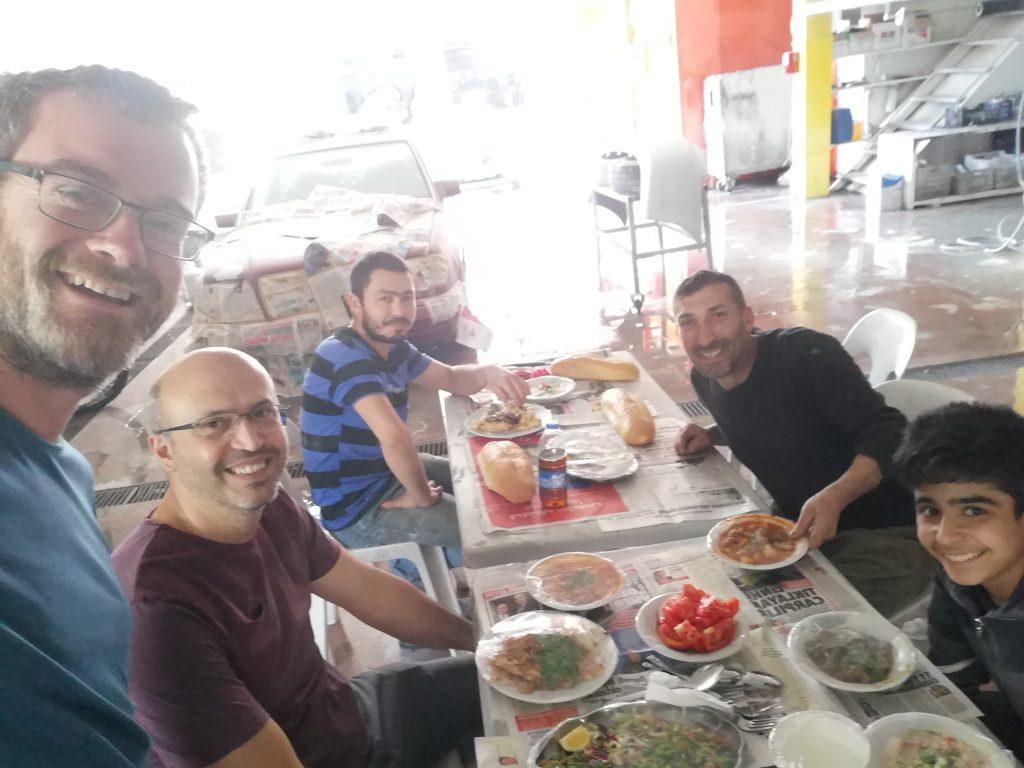 Une semaine de travaux à Antalya