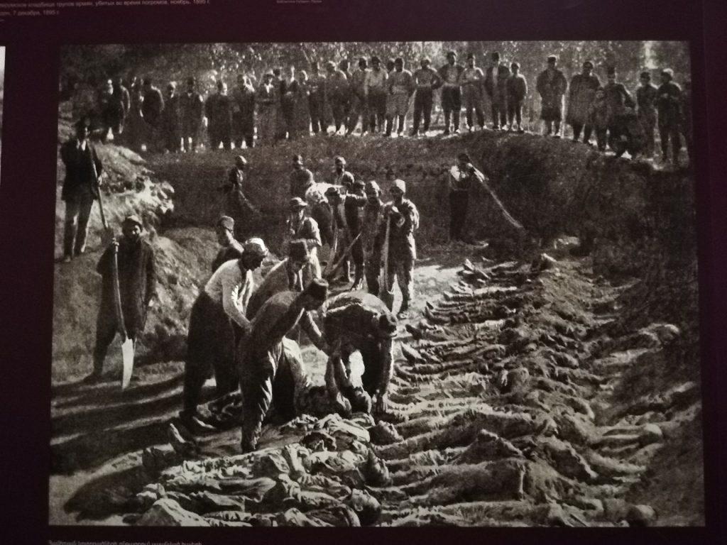 Mémorial génocide Arménie